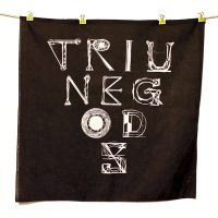 Triune Gods Bandana - Black