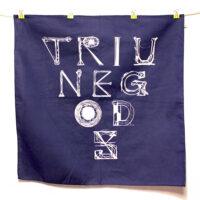 Triune Gods Bandana - Navy Blue